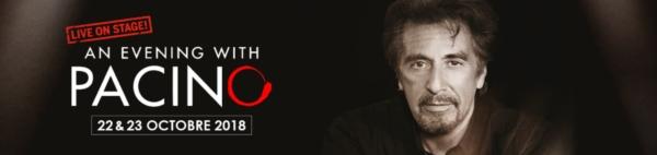 Al Pacino au Théâtre de Paris en octobre !