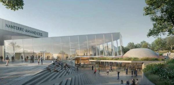 Voilà le futur théâtre de Nanterre-Amandiers !
