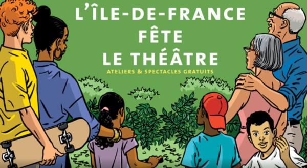 Les Tréteaux de France passent l'été dans des îles de loisirs en Île de France