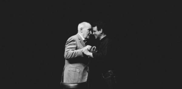 Maxime d'Aboville dans la peau de Michel Bouquet en septembre au Poche Montparnasse