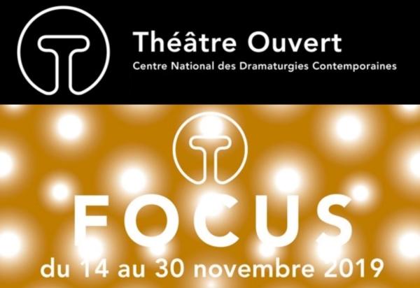 Focus à Théâtre Ouvert - F.T.O#6