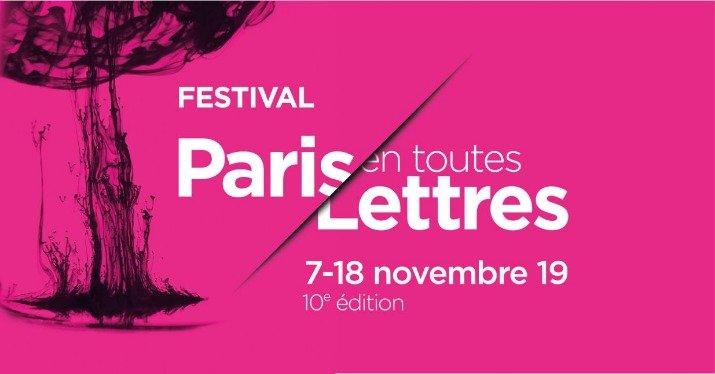 """Résultat de recherche d'images pour """"festival paris en toutes lettres 2019"""""""""""