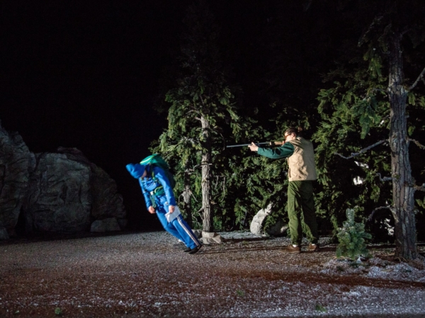 / critique / Kind dans l'effroyable forêt des Peeping Tom