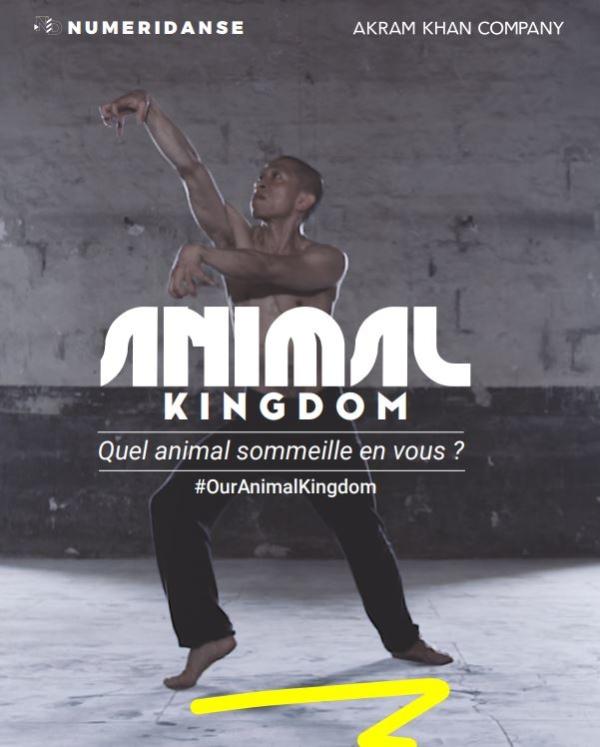 Numeridanse et Akram Khan Company lancent Animal Kingdom