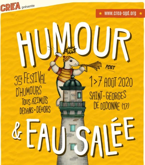 35ème édition du Festival Humour et Eau Salée cet été à St Georges de Didonne