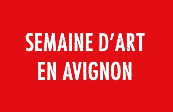 La programmation de la Semaine d'art à Avignon