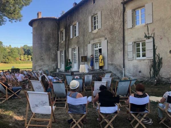 / reportage / Le festival d'été de La Maison Maria Casarès égaye tous les sens