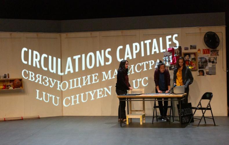 Circulations capitales de Marine Bachelot Nguyen au Festival Off Avignon 2021