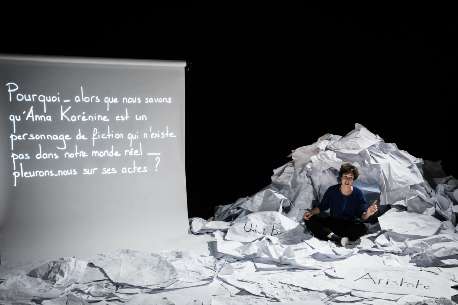 Alice Zeniter crée Je suis une fille sans histoire à La Fabrique de Valence