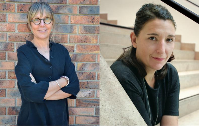 Pascale Daniel-Lacombe et Julia Vidit