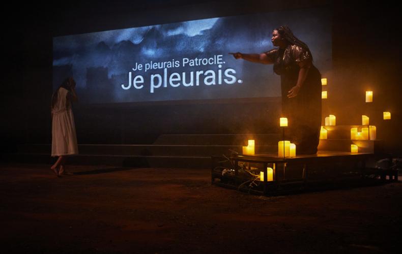 Laetitia Guédon monte Penthésilées de Marie Dilasser au Festival d'Avignon 2021