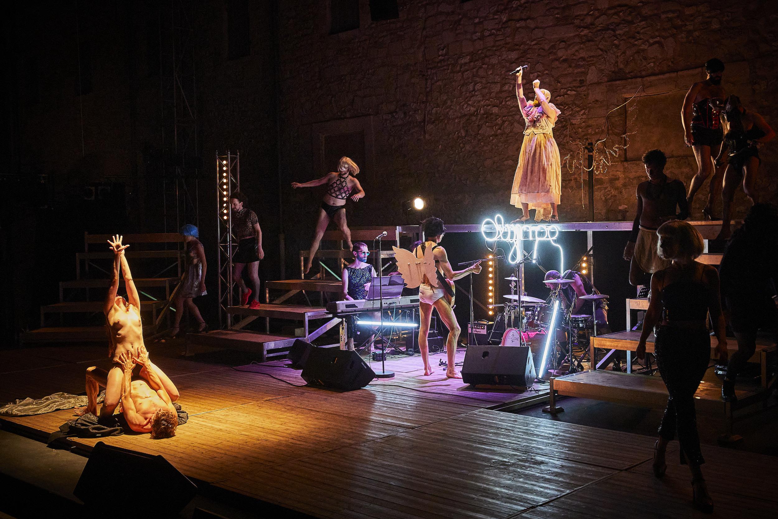 Le Ciel La Nuit La Fête de Molière par le Nouveau Théâtre Populaire au Festival d'Avignon 2021