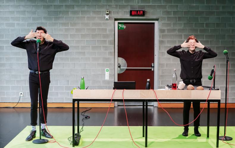 Muriel Imbach crée A l'envers à l'endroit à la Maison du Théâtre des Enfants Avignon Off 2021