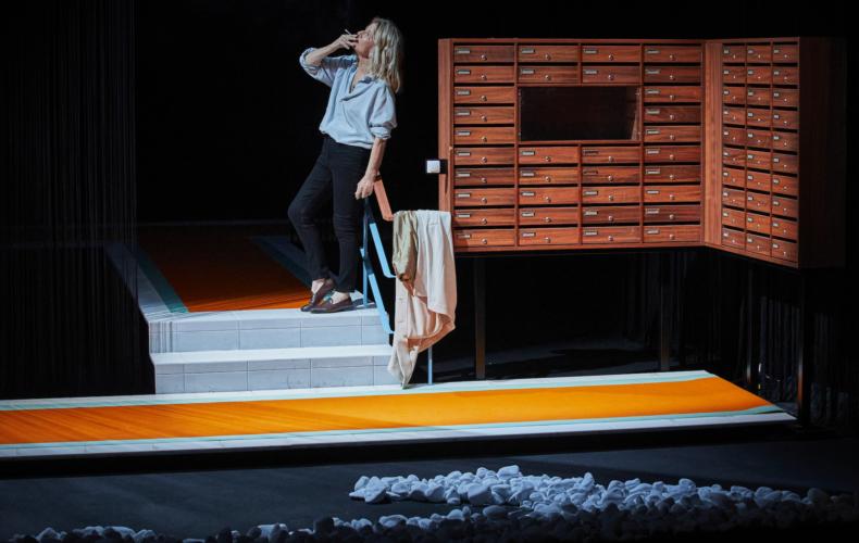 Nicole Garcia dans Royan de Marie NDiaye par Frédéric Bélier-Garcia à La Chartreuse Festival d'Avignon 2021